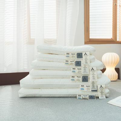 2020新款国际婴幼儿级A类无荧光 无甲醛低平亲子枕枕头枕芯 40*60cm学生款