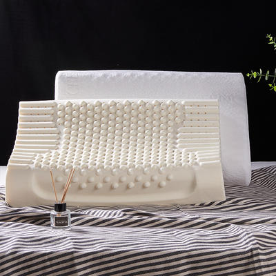 2020新款乳胶枕-枕头枕芯 颗粒枕