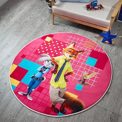 迪士尼地垫 圆形 直径1.55圆 3