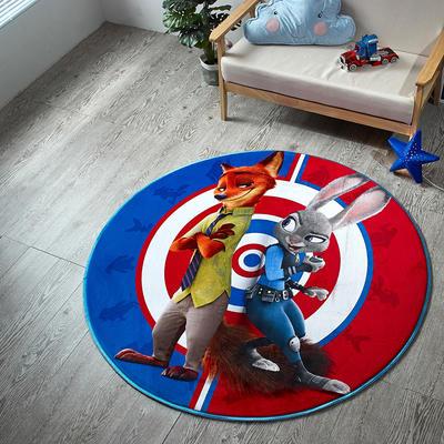 迪士尼地垫 圆形 直径1.55圆 9