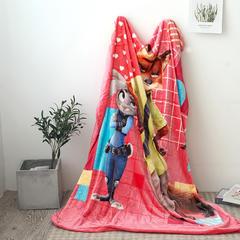 法兰绒拉毛数码印花毯 1.5m*2.0 1