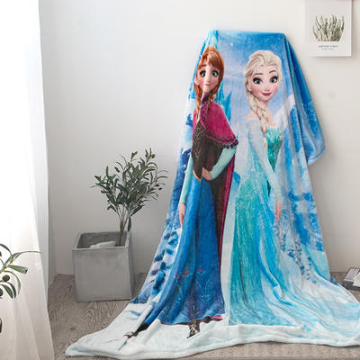 法兰绒拉毛数码印花毯 1.5m*2.0 6