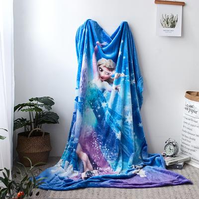 法兰绒拉毛数码印花毯 1.5m*2.0 13