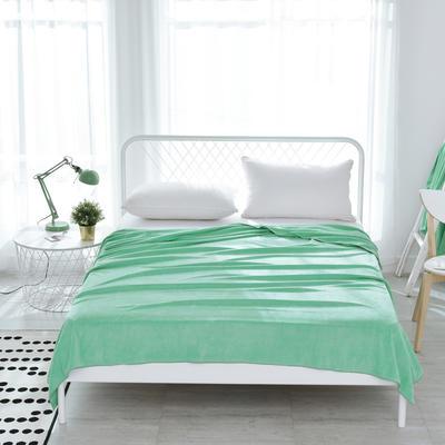 新款柔软亲肤毛巾被 150x200cm 绿色