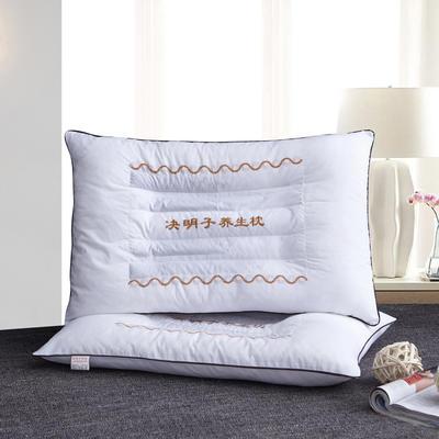 决明子保健枕46cm*72cm(白色) 白色