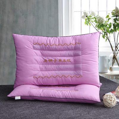 决明子保健枕46cm*72cm(粉色) 粉色