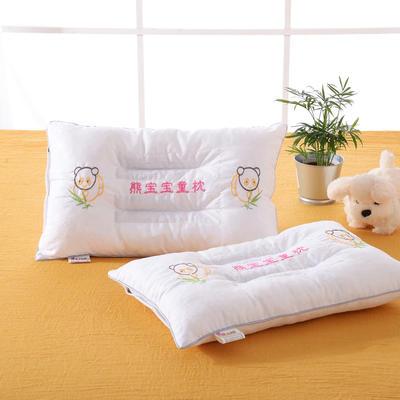 明星枕业儿童决明子枕芯枕头 熊宝宝-白 熊宝宝-白