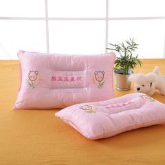 明星枕业儿童决明子枕芯枕头 熊宝宝-粉 熊宝宝-粉