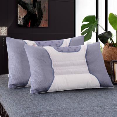 明星枕芯 决明子磁疗枕芯 保健枕头 白色