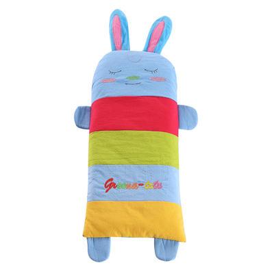 全棉卡通儿童小米壳枕头(宝宝兔) 宝宝兔大号(32*62cm)