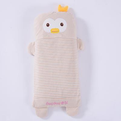 彩棉儿童荞麦枕 萌小鸭大号48*24cm
