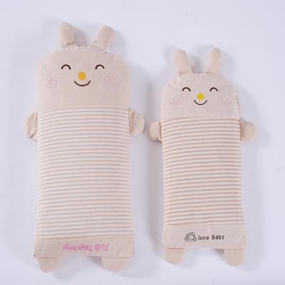 彩棉儿童小米壳枕 萌小兔小号40*20cm