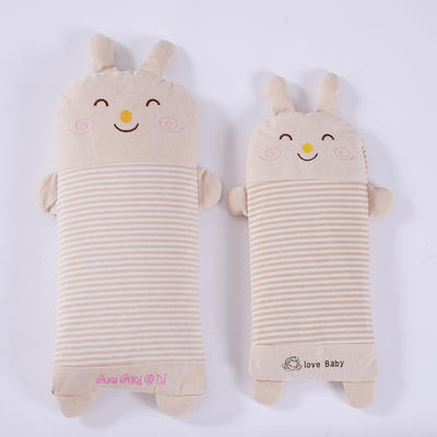 彩棉儿童荞麦枕(萌小兔) 萌小兔大号48*24cm