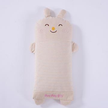 彩棉儿童小米壳枕(萌小兔)