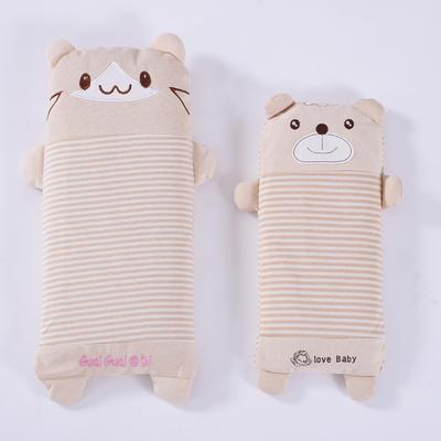 彩棉儿童小米壳枕(萌小熊) 萌小熊小号40*20cm