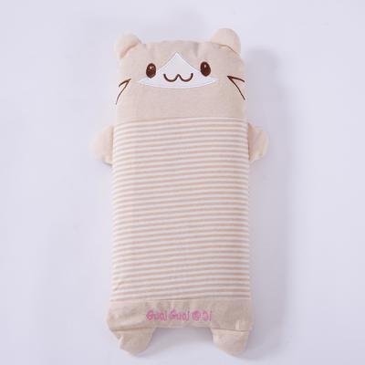 彩棉儿童小米壳枕(萌小熊) 萌小熊大号48*24cm