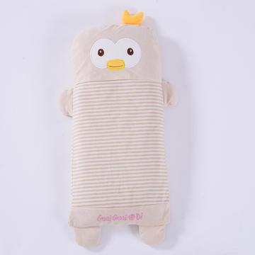 彩棉儿童小米壳枕(萌小鸭)