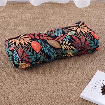 老粗布荞麦枕腰鼓枕(50*25cm挪威森林)