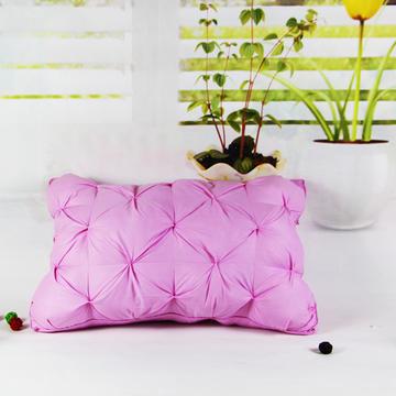 明星枕业 枕芯枕头 韩式面包羽绒枕