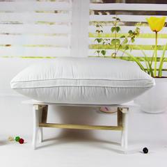明星枕业 枕芯枕头 立体羽绒枕 白