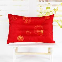 明星枕业 高弹珍珠棉定位枕 跑量款特价 大红
