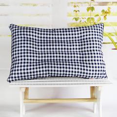 明星枕业 高弹珍珠棉定位枕 跑量款特价 小方格-蓝