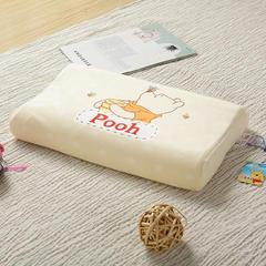 明星枕业-Disney迪士尼儿童乳胶枕30*50(维尼熊大号) 维尼熊