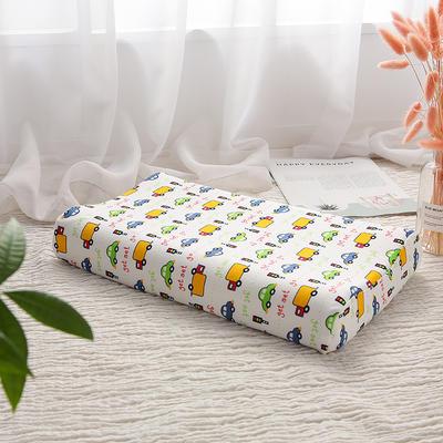 明星枕业-2018新款-泰国天然儿童乳胶枕 车队小号