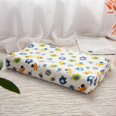 明星枕业-2018新款-泰国天然儿童乳胶枕 好伙伴小号