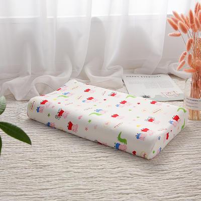 明星枕业-2018新款-泰国天然儿童乳胶枕 社会人小号
