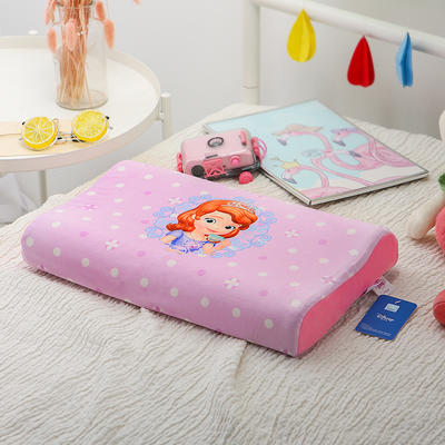 明星枕业-正版官方授权迪士尼乳胶 大号苏菲亚-紫