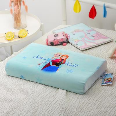 明星枕业-正版官方授权迪士尼乳胶 小号冰雪奇缘-蓝