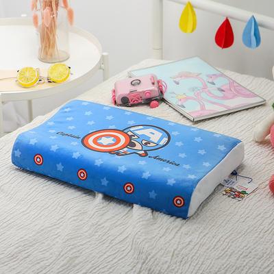 明星枕业-正版官方授权迪士尼乳胶 小号美国队长-蓝
