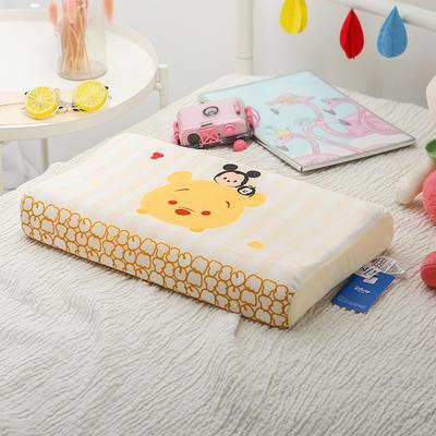 明星枕业-正版官方授权迪士尼乳胶 小号维尼熊-伙伴