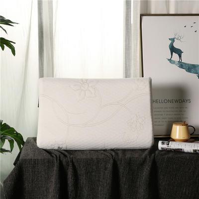 2018新款-乳胶高低波浪枕(60*40*10/12cm) 乳胶高低波浪枕