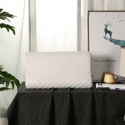 2018新款-乳胶狼牙枕(60*37*10/12cm) 乳胶狼牙枕