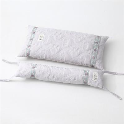 2019新款-多功能水洗棉可调节荞麦枕头护颈椎枕头2合一子母组合枕 荞麦组合枕浅灰/一个