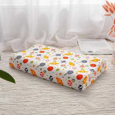 2020新款乳胶枕(44*27)/只 糖果