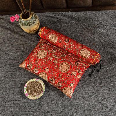 2020新款-荞麦枕枕头枕芯 方枕42*25流光溢彩红色/个