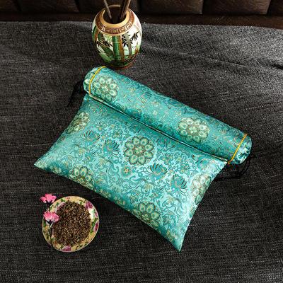2020新款-荞麦枕枕头枕芯 方枕42*25流光溢彩蓝色/个