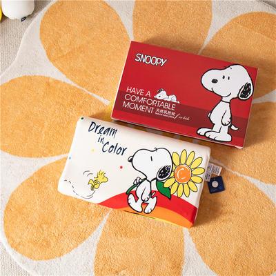 2021新款-史努比儿童卡通乳胶胶枕 30*50+7-9 /个 彩色梦想