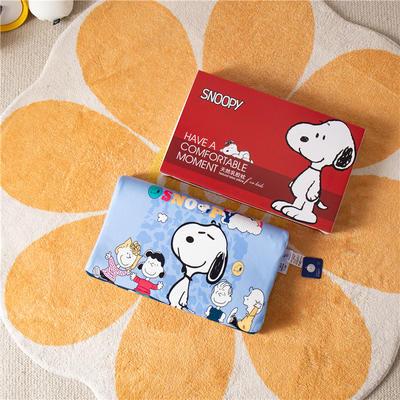 2021新款-史努比儿童卡通乳胶胶枕 30*50+7-9 /个 美好一天