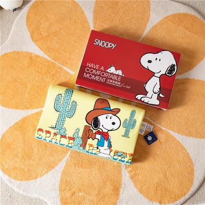 2021新款-史努比儿童卡通乳胶胶枕 30*50+7-9 /个 沙漠旅行