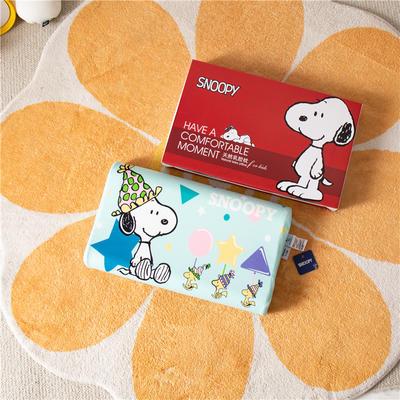2021新款-史努比儿童卡通乳胶胶枕 30*50+7-9 /个 幸福时刻
