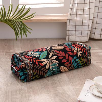 2021新款-全棉老粗布全荞麦壳枕头可调节枕 挪威森林调节枕