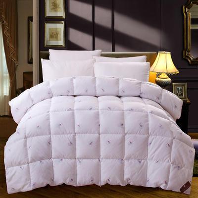 至尊羽丝绒被 150*200cm/4斤 至尊羽丝绒被---白色
