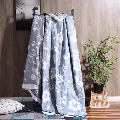 2019全棉夏被春夏新款普通夏被棉被纯棉北欧简约被子被芯 150x200cm 暮色