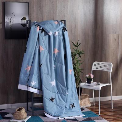 2019全棉夏被春夏新款普通夏被棉被纯棉北欧简约被子被芯 150x200cm 星时尚