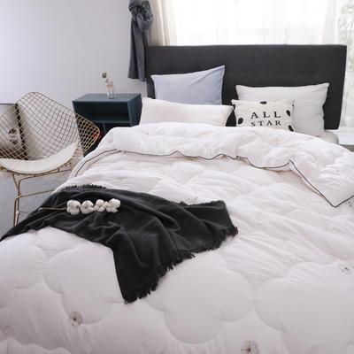新疆棉花被13372纯棉面料棉花被芯棉絮全棉冬被学生宿舍被子 150x200cm(4斤) 棉花朵