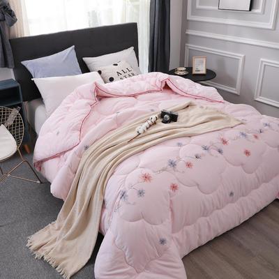 新疆棉花被13372纯棉面料棉花被芯棉絮全棉冬被学生宿舍被子 150x200cm(4斤) 花仙子